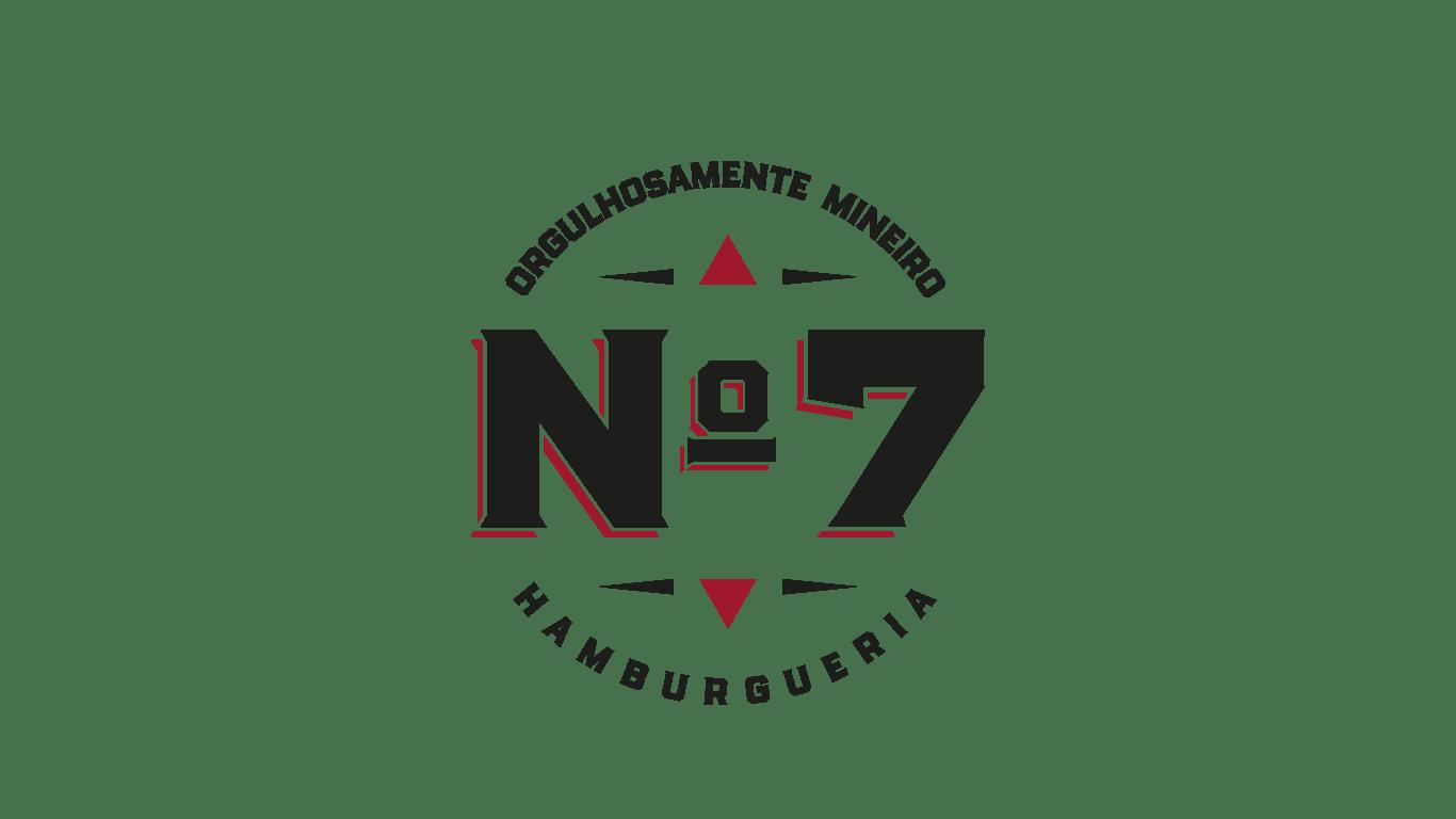 Logo Hamburgueria Nº7